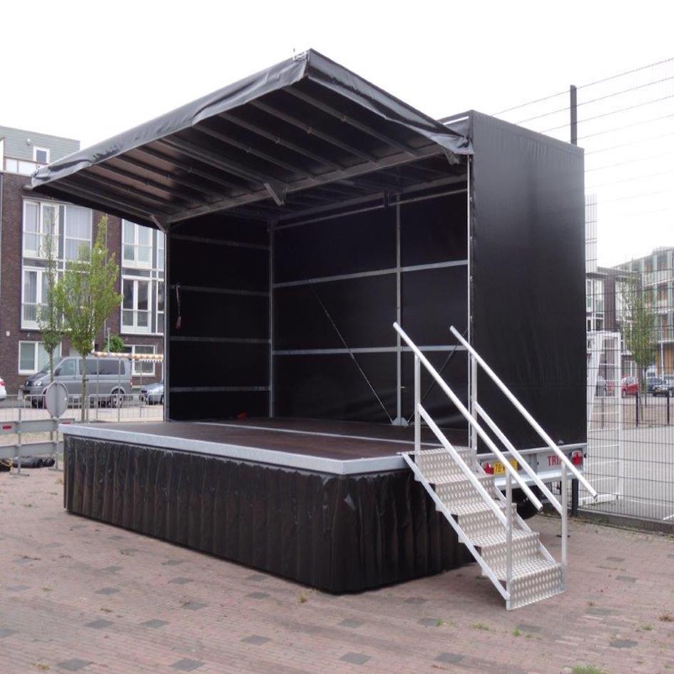 podiumwagen van Hanswijk